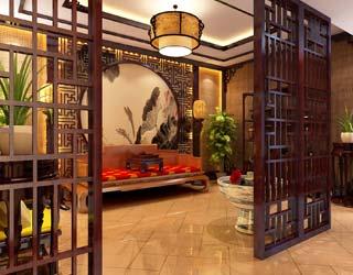 中式私人会所设计案例;; > 中式会所装修 >; 现代人所追求的中式风格