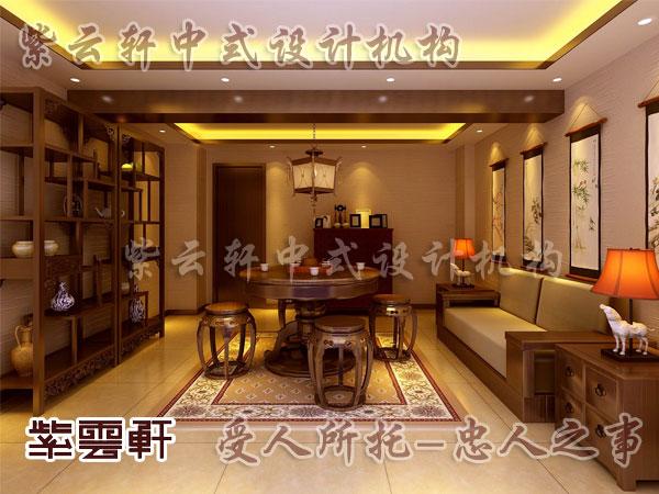 中式装修茶室11