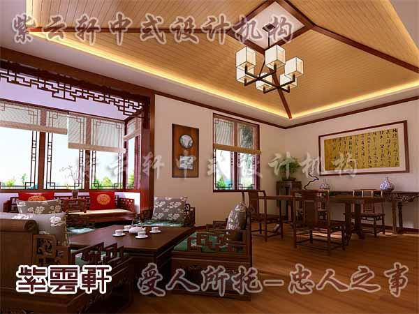 中式装修茶室12