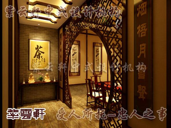 中式玄关装修效果图,中式玄关柜隔断效果图,中式风格玄关,中式高清图片