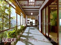 中式设计阳台2