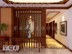 中式风格玄关5