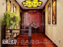 中式装修玄关4