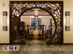 中式装修玄关2