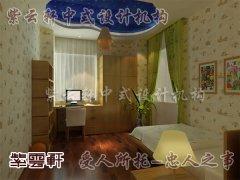 中式卧室装修4