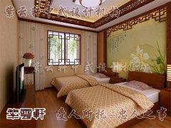中式简约卧室6