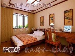 中式室内卧室装修4