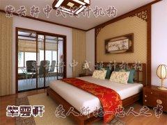 中式室内卧室装修5