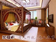 中式室内卧室装修6