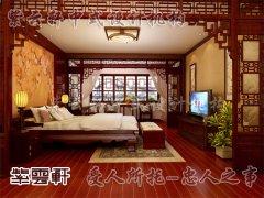 中式室内卧室装修7
