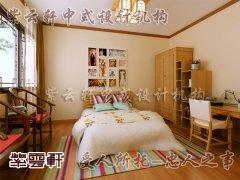 中式设计卧室2