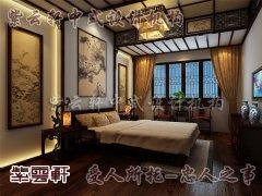 中式风格卧室2