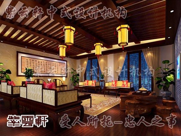 中式古典装修客厅13