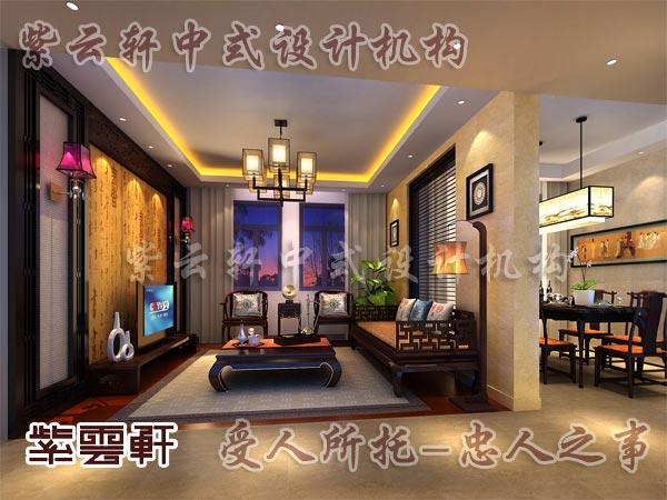 中式古典装修中式客厅42