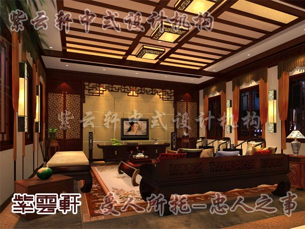 中式古典装修中式客厅43