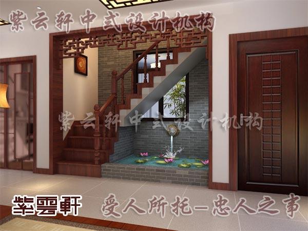 中式古典装修中式楼梯间5
