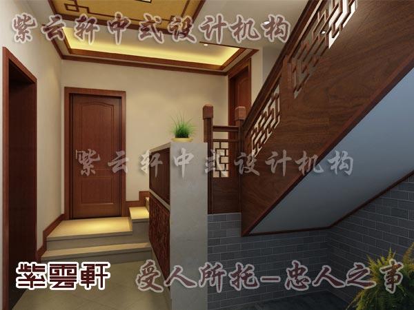 中式古典装修中式楼梯间1