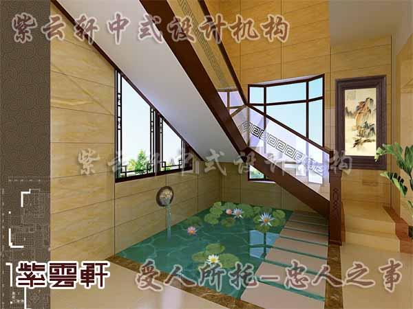 中式古典装修中式楼梯间6