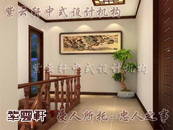 中式古典装修中式楼梯间8