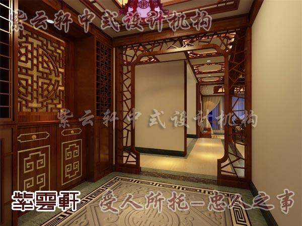 中式古典装修中式门厅1