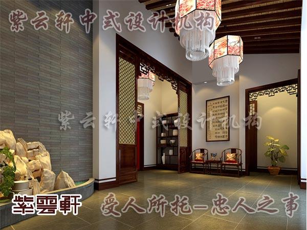 中式古典装修中式门厅2