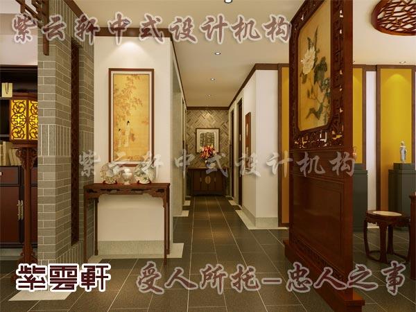 中式古典装修中式门厅8