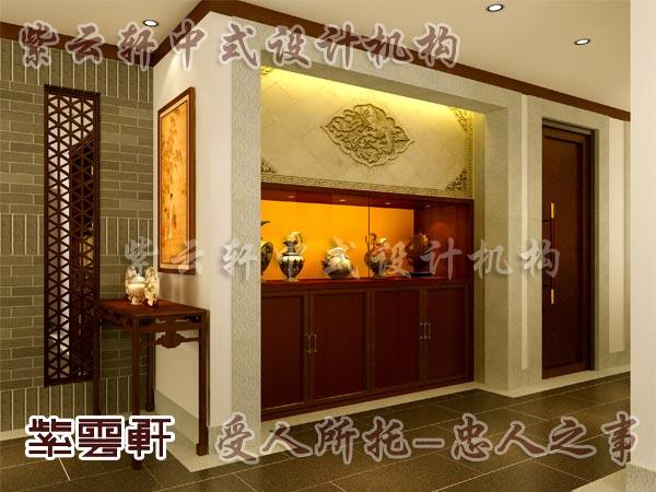 中式古典装修中式门厅9