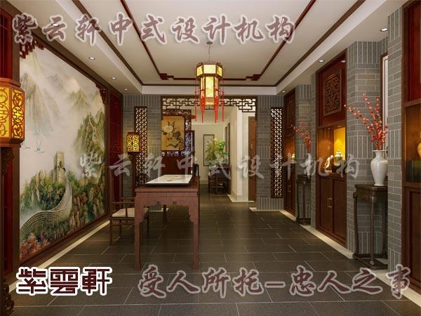 中式古典装修中式门厅10