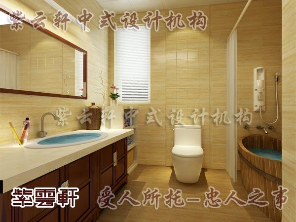 中式古典装修中式卫生间2