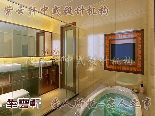 中式古典装修中式卫生间8