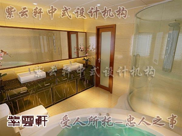 中式古典装修中式卫生间9