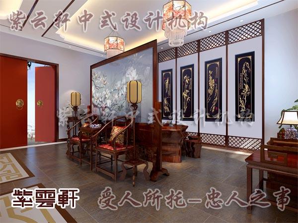 中式装修中的书房1