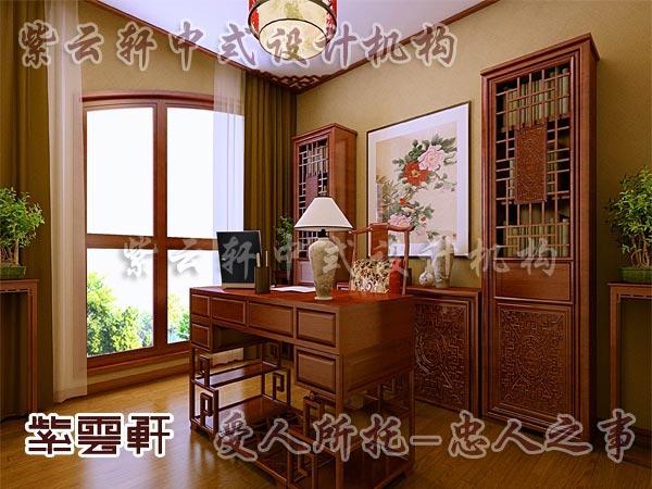 中式装修中的书房9