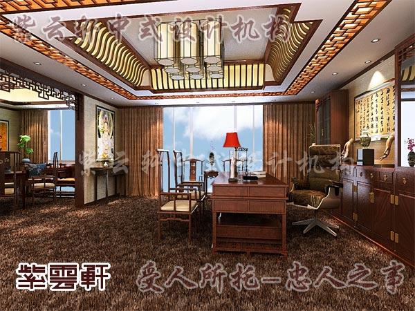 中式装修中的书房21