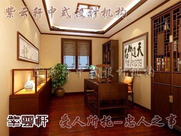 中式装修中的书房18