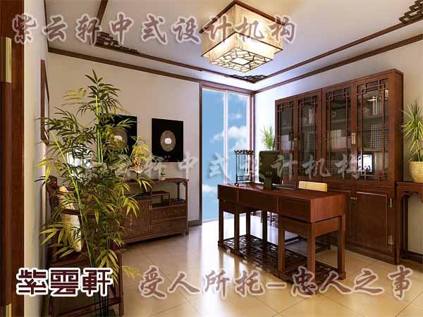 中式装修中的书房24