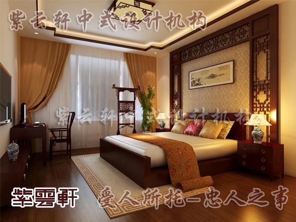 中式装修中的卧室3