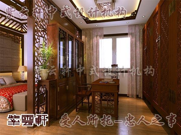 中式装修中的卧室4