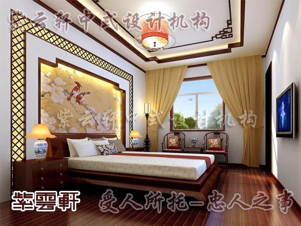 中式装修中的卧室5