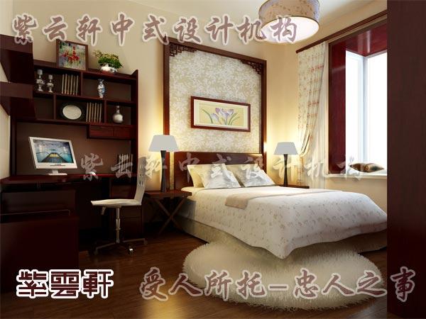 中式装修中的卧室7