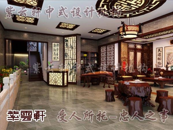 中式装修中的休闲室2