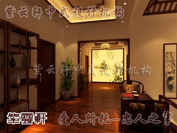 中式装修中的休闲室10