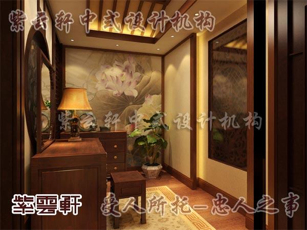 中式装修中的玄关1