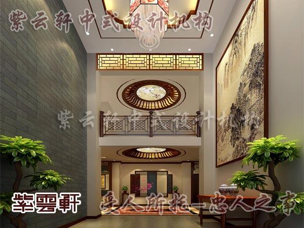 中式装修中的玄关3