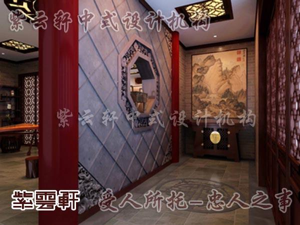 中式装修中的玄关5
