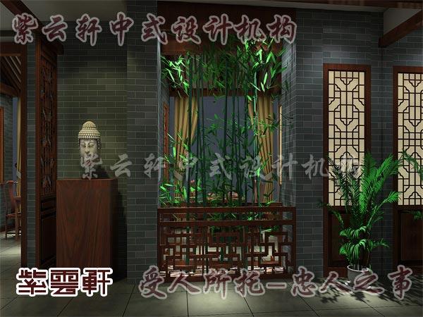 中式装修中的玄关6