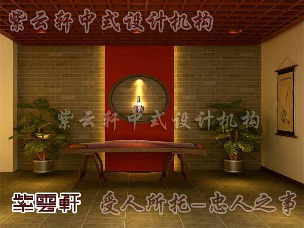 中式装修中的玄关16