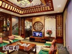 中式客厅装修4