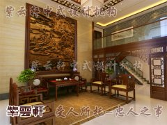 中式客厅装修6