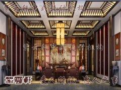 中式风格客厅设计5
